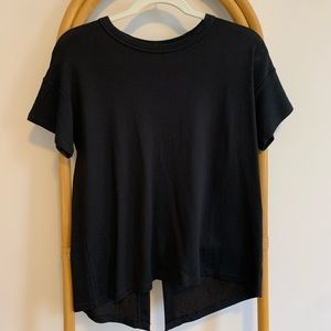 Rag and Bone Kat Split Back Tee